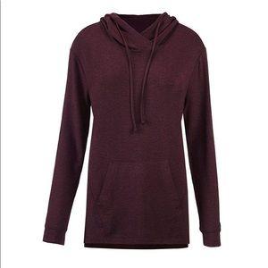 Cabi NEW burgundy ultra soft hoodie sz Small